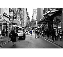 City Jogger Photographic Print
