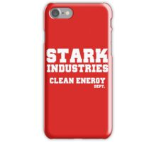 Stark Industries Clean Energy Dept. iPhone Case/Skin
