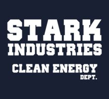 Stark Industries Clean Energy Dept. Kids Clothes