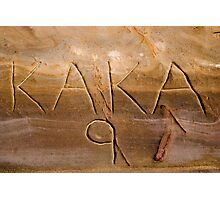KAKA 9 Photographic Print