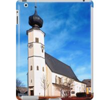 The village church of Sankt Veit / Mkr II | architectural photography iPad Case/Skin