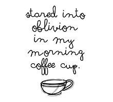 Morning Coffee by anainwonderland