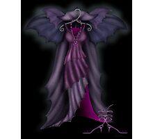 Bat Dress Photographic Print