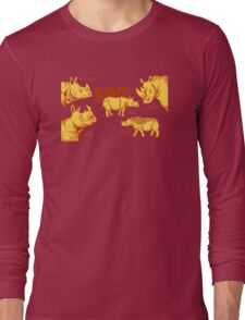 Save the Rhino Long Sleeve T-Shirt