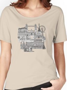 London toile red Women's Relaxed Fit T-Shirt