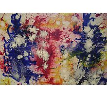 Color Explosion Photographic Print