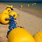 Yellow Bouy by zabcoloma