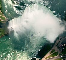 Over Niagara by Martina Fagan
