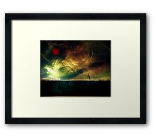The poetry of earth when heaven sings Framed Print