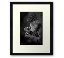 UNCLE FERNANDO Framed Print