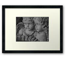 Garden  Children Framed Print