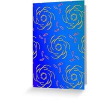 sdd Pattern design 5B Greeting Card