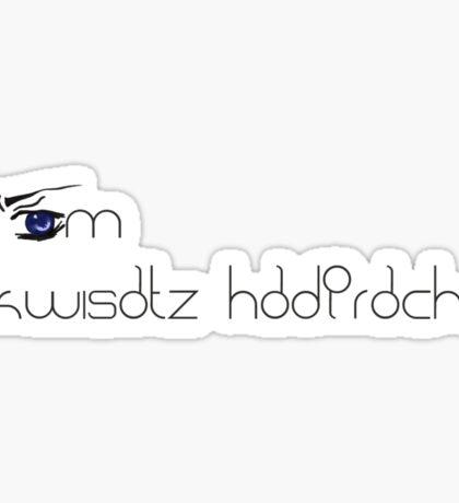 I AM Kwisatz Haderach Sticker