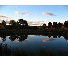 Mirror Dam Photographic Print