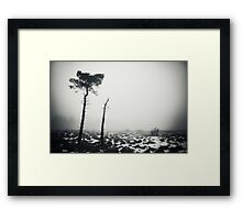 Win Hill Framed Print