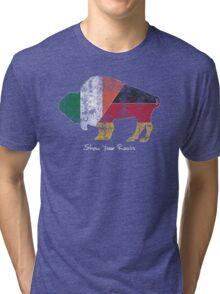 Buffalo Roots - German Irish Tri-blend T-Shirt
