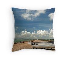 A great day for a landing Throw Pillow