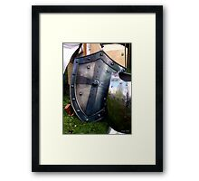 Polished to bedazzle. Framed Print