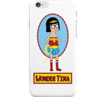 Wonder Tina iPhone Case/Skin