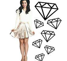 MARINA'S DIAMONDS by katkouture