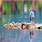 Autumn Fishing by Philip Cozzolino
