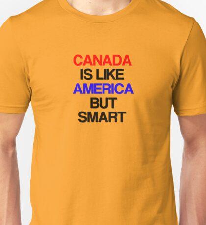 I Love Canada Hockey Unisex T-Shirt