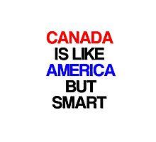 I Love Canada Hockey Photographic Print