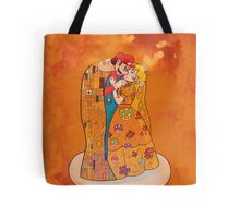 "The ""about to"" Kiss Tote Bag"