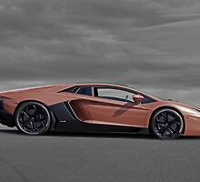 2012 Lamborghini Aventador by DaveKoontz