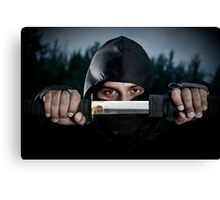 Ninja sword Canvas Print