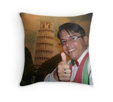 Cuban Italian Waiter Throw Pillow