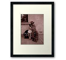 The Traveler, He Will Be Missed Framed Print