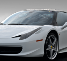 2015 Ferrari 458 'Rainy Daze' 2 Sticker