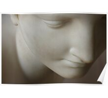 Marble Woman Face Poster