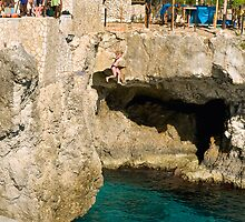 Taking the plunge in Jamaica by Mountainimage