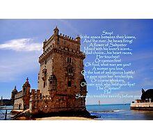 Torre de Belém, Lisbon, Portugal  Photographic Print