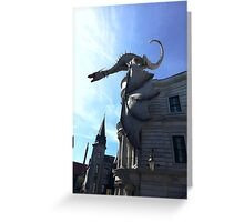 Will you escape Grimgots? Greeting Card