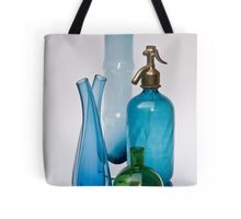Still Life With Coloured Glass Tote Bag