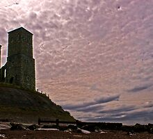 Reculver Towers by Adrian  Line