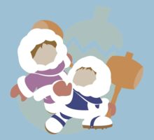 Super Smash Bros Ice Climbers  by Michael Daly