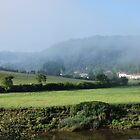 Morning mist at Tintern  Wye Valley by 29Breizh33