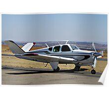 Beechcraft Bonanza V-Tail Poster