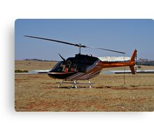 Bell 206B3 Helicopter Canvas Print