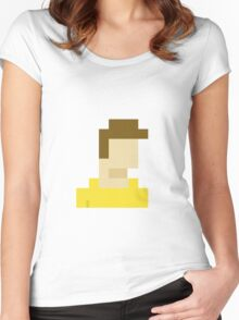 Simplistic. Women's Fitted Scoop T-Shirt