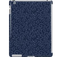Blue Swirls iPad Case/Skin