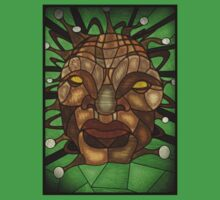 Face of Boe Stained Glass Kids Clothes
