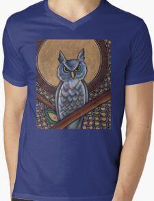 Night Owl Tee Mens V-Neck T-Shirt