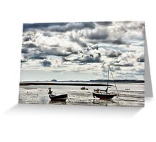 On Holy Island Greeting Card