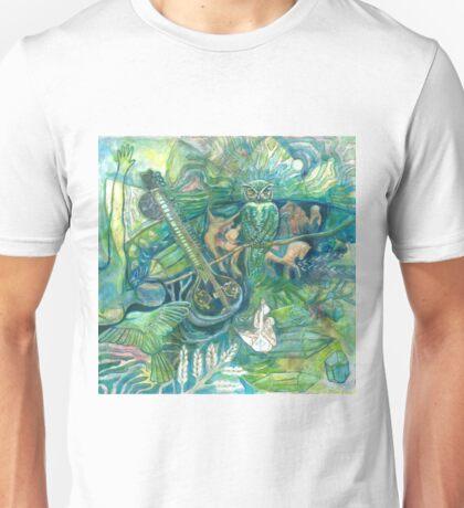 Emerald Wisdom Unisex T-Shirt