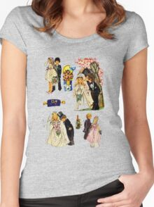 Wedding Women's Fitted Scoop T-Shirt